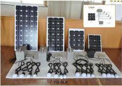 100 wp solar home lighting system