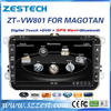 Touch Screen Car DVD GPS for VW MAGOTAN/SAGITAR/BORA/ BACADDY/GOLF 6/TOUGUAN/NEW PASSAT Car DVD GPS/Radio/ 3G Phonebook/ iPod/BT