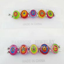 Children's plastic rosary elastic bracelet