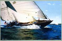 decor painting-wholesale pirate ship sea battle ocean seascape oil painting
