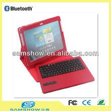Wireless Bluetooth Keyboard Leather Case for Samsung Galaxy Tab/Tab 2 10.1 P5100 P5110 P7500 P7510
