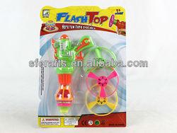 Plastic Spin Top Gun Toy,super flying disc spinning top gun toys,Flashing Spinning Top Toys