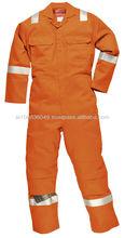 Abbigliamento da lavoro in cotone Protezione antistatica contro il fuoco e il freddo