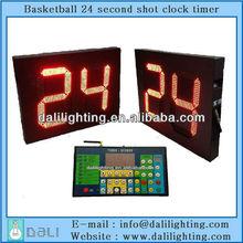 NBA CBA equipment factory supplier of led electronic digit shot clock timer