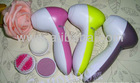 2013 Women Face Massager, Facial Beauty Apparatus, Face Vibrating Beauty Device with with 3 different function massage head