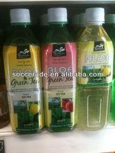 500ML FRESH ALOE DRINK WITH GREEN TEA