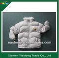 Menina casaco de inverno, crianças roupas, revestimento acolchoado para crianças