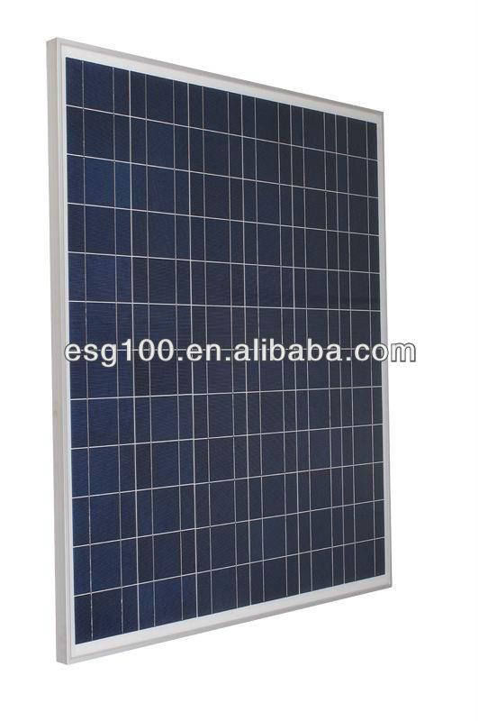 130W Polysilicon solar panels