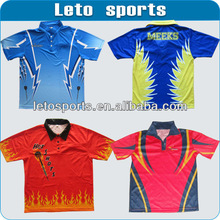 free shipping latest design 100% polyester running dry fit polo shirts