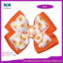 Grosgrain ribbon bow tie for gift
