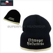 100% wool beanie knit hats