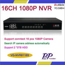 4ch Alarm In ONVIF 1080P P2P NVR