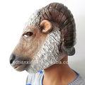 de látex de cabeza de animal máscara de cabra animal máscara de la máscara de partido