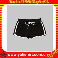 OEM classic comfort black plain soft cotton mini shorts sexy girls in tight short shorts