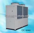 Alta eficiência bebidas planta refrigerado a ar refrigerador de água industrial