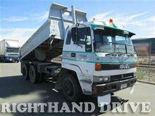 Isuzu camión de volteo( enfermedad hemorrágica del conejo) diesel, 94550