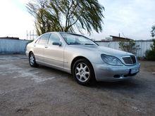 car mercedes w220 s klasse clas s3s20 cdi, 145 kw, 197 cp, om 613.960, 2001 (99-02)