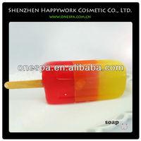 different shape and color soap breeze soap