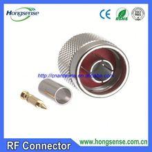 Rf conector TNC macho conector neumático conector