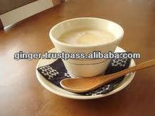 Sweet instant ginger tea healthy drink