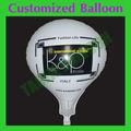 Balão personalizado formas para publicidade