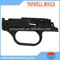 negro pom pistolas de juguetes de piezas de inyección de plástico del molde