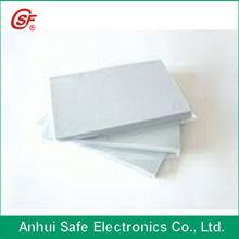 2013 fashion Instant PVC sheet no laminating plastic cards