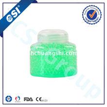 gel beads air freshener in toilet