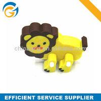 Lion Animals Pencil Eraser,Cartoon Eraser