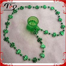 st. patricks day party shamrock necklace