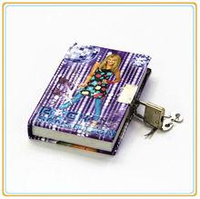 mini cute diary with lock and key