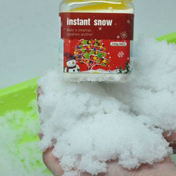 After water Funny instant snow Family decorate snow Xmas gift