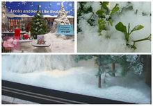 Xmas tree Funny instant snow Family decorate snow Xmas gift