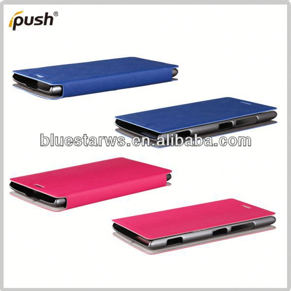 Filp PU Leather Bag phone accessory china wholesale For Nokia925
