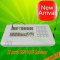 32 sim gsm voip gateway goip32 voip2 15minutes