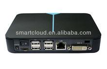 Citrix /VMware View RemoteFX cloud computing terminal 1GB Memory 4GB flash box with plastic case desktop computer