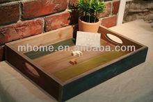 Rustic antique wooden storage pallet ,planter box