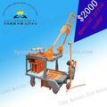 Usado motor diesel qmr4-45 hidráulica automática de blocos e tijolos máquina para venda