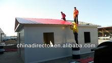 cantiere di facile installazione e acqua a prova di fuoco di casa modulare