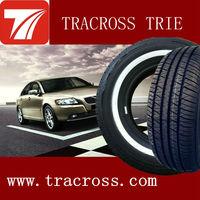 TRACROSS white car tyres