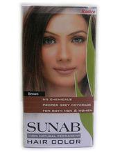 Henna with Herbs in Hair Dye
