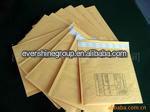 Heat sealed brown kraft paper for food