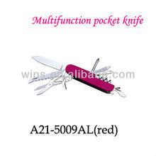 multi function damascus steel handmade folding knife