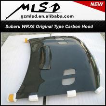 subaru wrx6 carbon fiber hood / auto performance