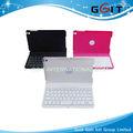 bluetooth inalámbrico de teclado para ipad mini pc rotatingtablet diente azul del teclado