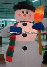 custom inflatable snowman/christmas decoration/christmas inflatable