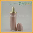 egg shape acrylic bottle 100ml