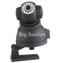 Indoor Surveillance Wireless/wired ir pan tilt p2p wifi camera with free uid