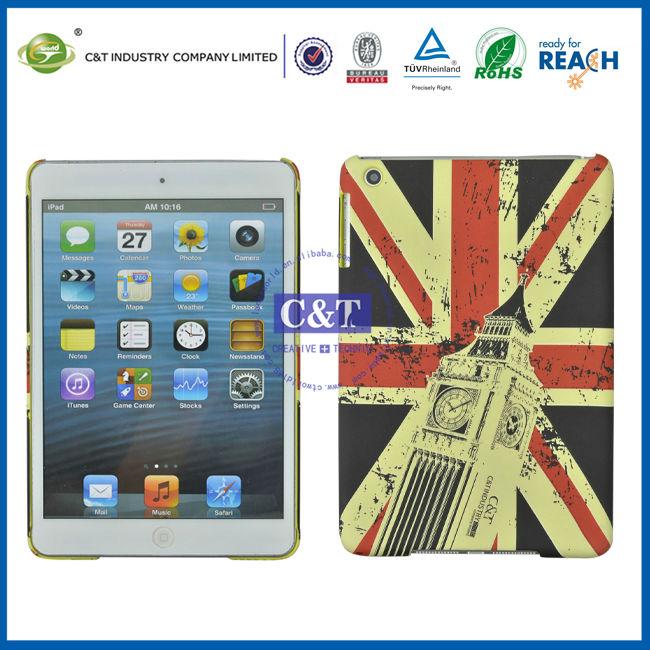 C&T British Flag plastic brand new cover case for ipad mini