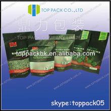 Aluminum-Foil packaging bags/Pure Sun Dried raw nopal cactus sugar balancing food packaging bags/Raw chia seeds stand up bags